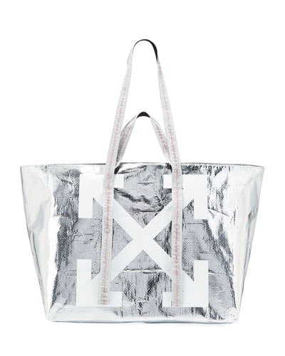 New Commercial Metallic Tote Bag
