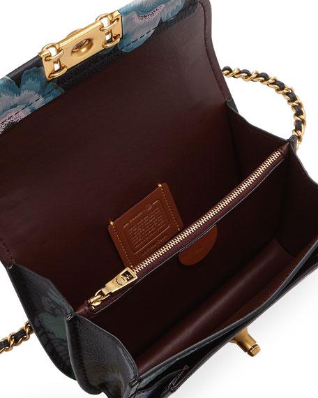 Coach 1941 x Kaffe Fassett Bar Printed Leather Crossbody Bag