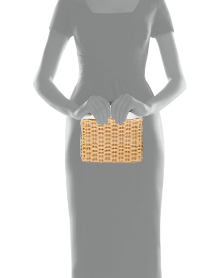 Image 3 of 3: Pamela Munson The Charlotte Double Fun Clutch Bag