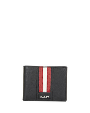 bc6caaf4 Bally Men's Tevye Trainspotting-Stripe Wallet