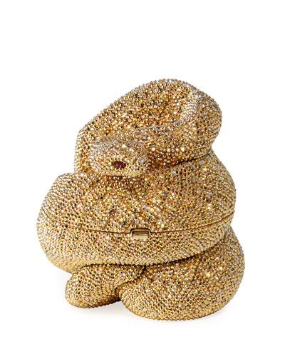 Snake Golden Cobra Minaudiere