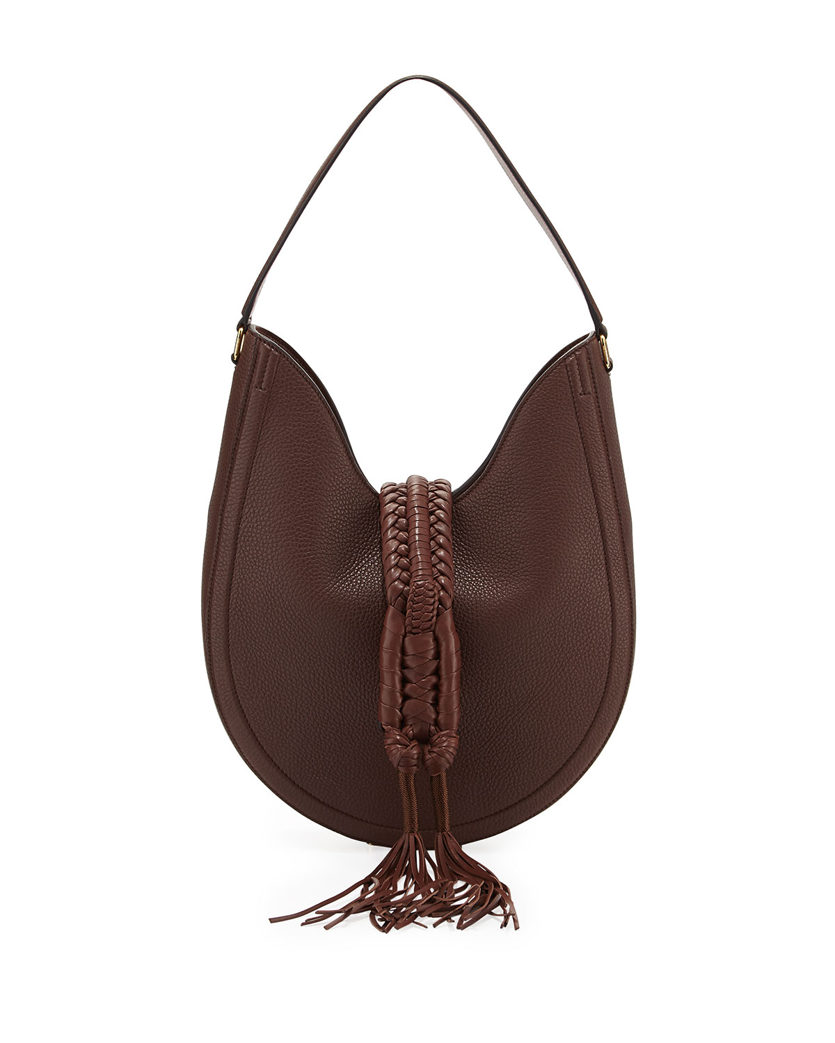 60f4fb78f19 Altuzarra Ghianda Small Woven Leather Hobo Bag | Neiman Marcus