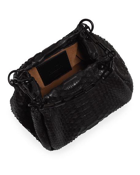 Callista Crafts Mini Python Hobo Bag