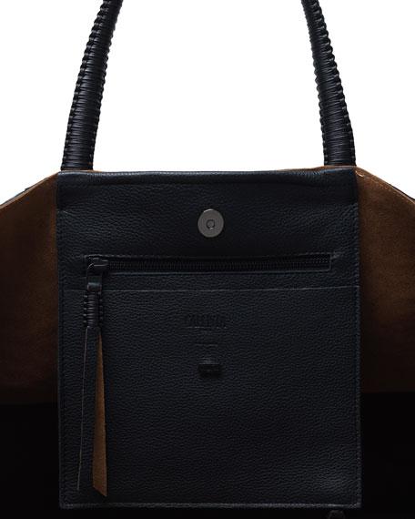 Callista Dual Python Tote Bag