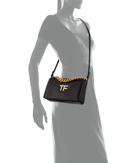 Image 4 of 4: TOM FORD Palmellato Large TF Chain Shoulder Bag