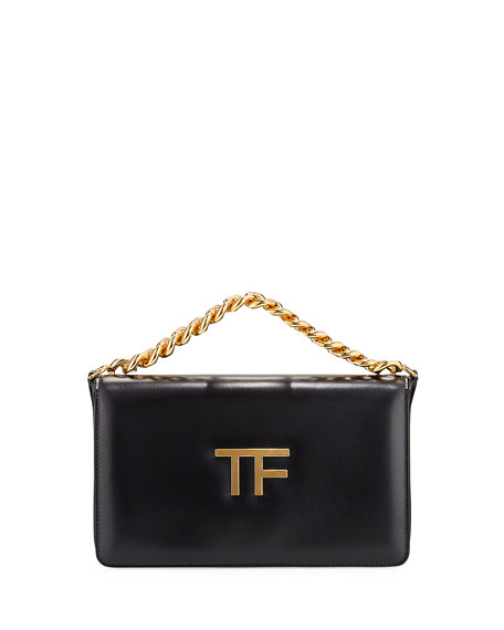 Image 1 of 4: TOM FORD Palmellato Large TF Chain Shoulder Bag