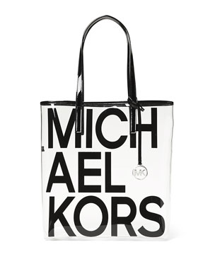 93f41d4625d8 MICHAEL Michael Kors The Michael Large North/South Logo Tote Bag