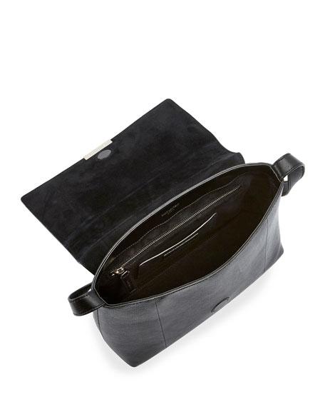 Saint Laurent Sac de Jour 90s Snakeskin Shoulder Bag