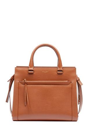 Womens Designer Multi-Color Large Striped Handbag Cross Body Shoulder Purse Size