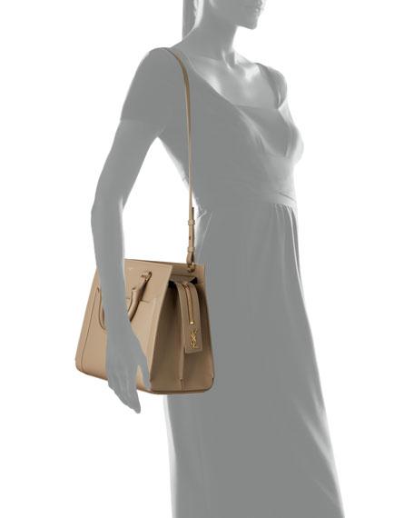 Saint Laurent Eastside Medium Leather Top-Handle Crossbody Bag
