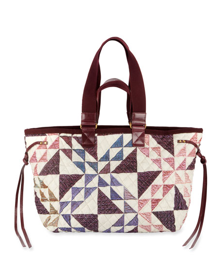 Isabel Marant Wardy New Quilt Tote Bag