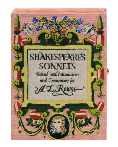 Shakespeare Strapped Book Crossbody Bag