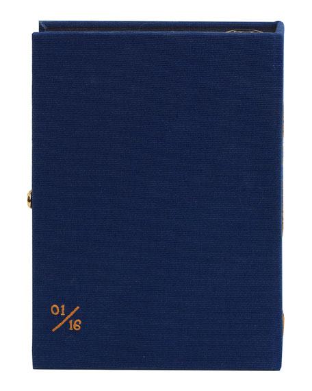 Olympia Le-Tan Pride and Prejudice Strapped Box Book Crossbody Bag