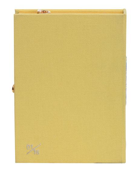 Olympia Le-Tan La Cote d'Azur Strapped Box Book Crossbody Bag