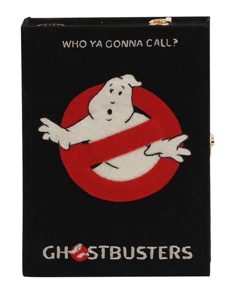 Olympia Le-Tan Ghostbusters Box Clutch Bag