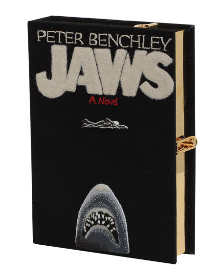 Image 2 of 3: Jaws Strapped Book Crossbody Bag