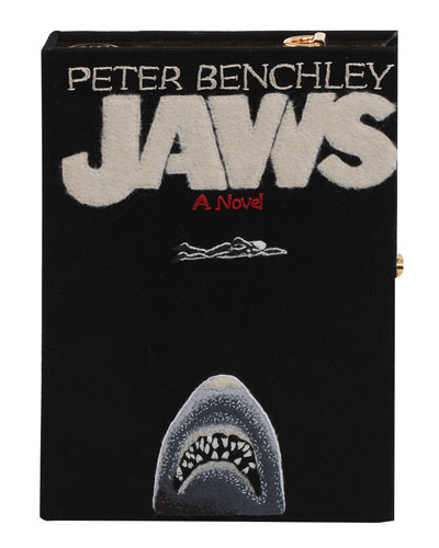Jaws Strapped Book Crossbody Bag