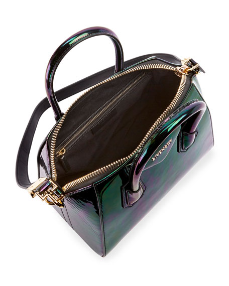 Givenchy Antigona Small Holographic Satchel Bag