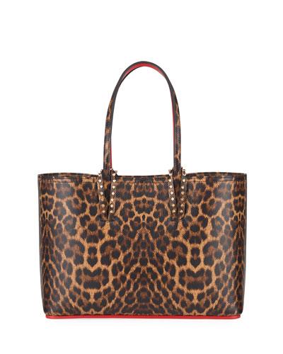 Cabata Small Leopard-Print Tote Bag