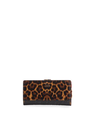 Paloma 50s Sole Leopard Wallet