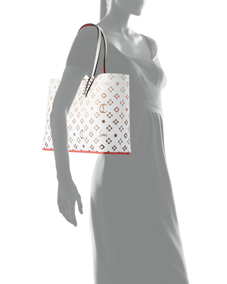 Christian Louboutin Cabata Small Calf P Loubinthesky Gradient Tote Bag