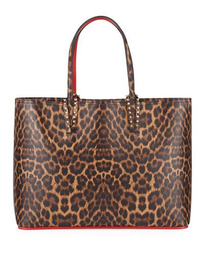 Cabata Large Leopard-Print Tote Bag