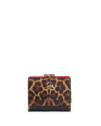 Paloma Mini 50s Sole Leopard Wallet