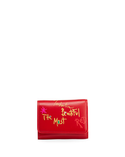 Loubigaga Mini The Most Beautiful Red Wallet