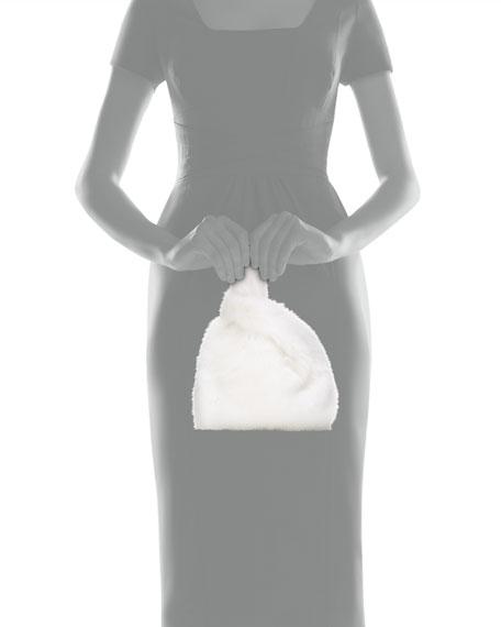 Simonetta Ravizza Furrissima Baby Mink Fur Shopper Tote Bag, White