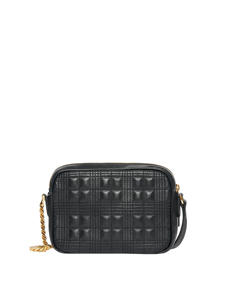Image 3 of 5: Burberry Small Quilted Camera Bag