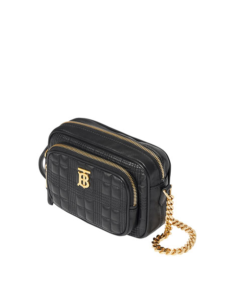 Image 4 of 5: Burberry Small Quilted Camera Bag