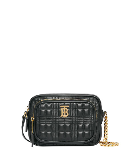 Image 1 of 5: Burberry Small Quilted Camera Bag