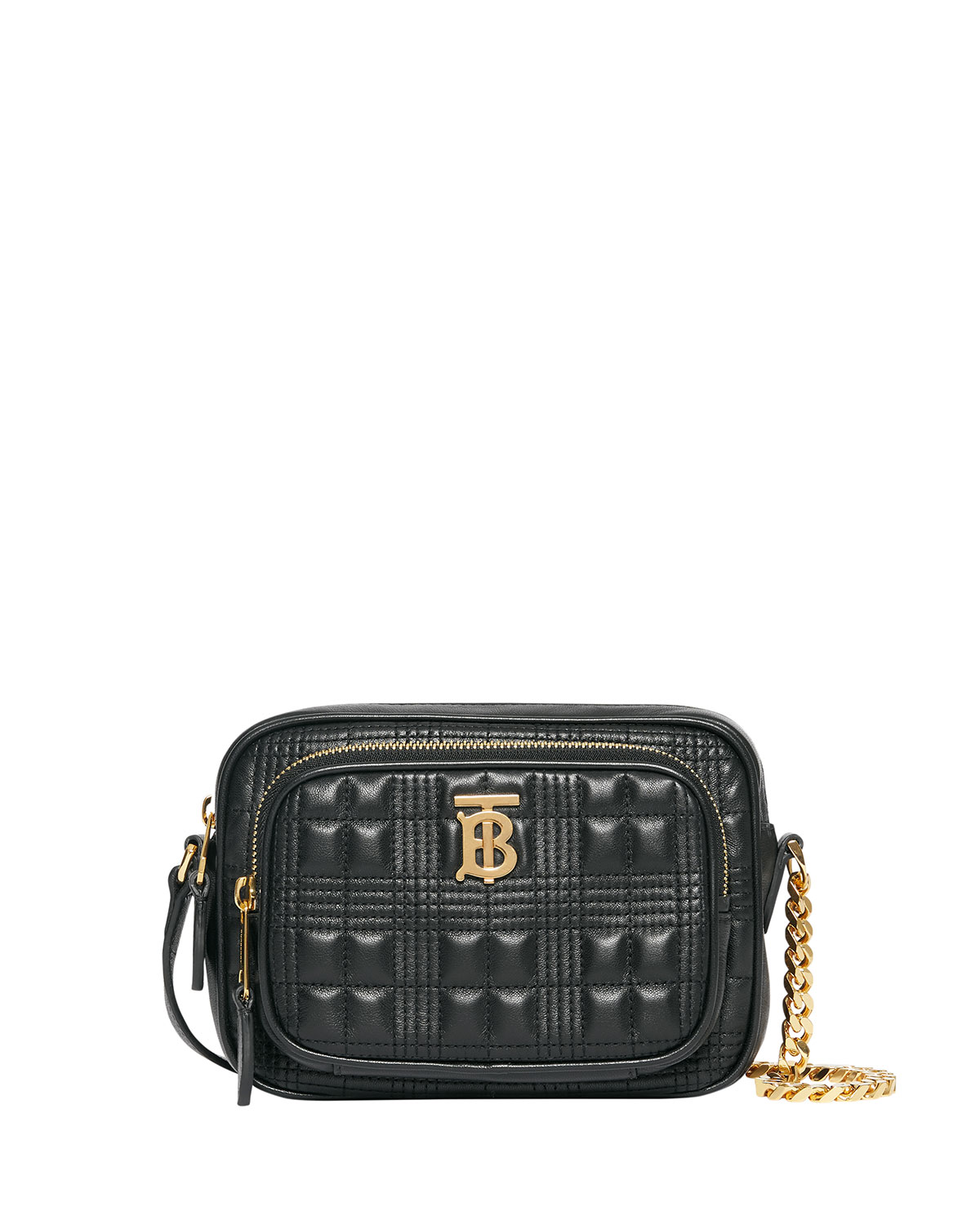 Burberry Small Quilted Camera Bag