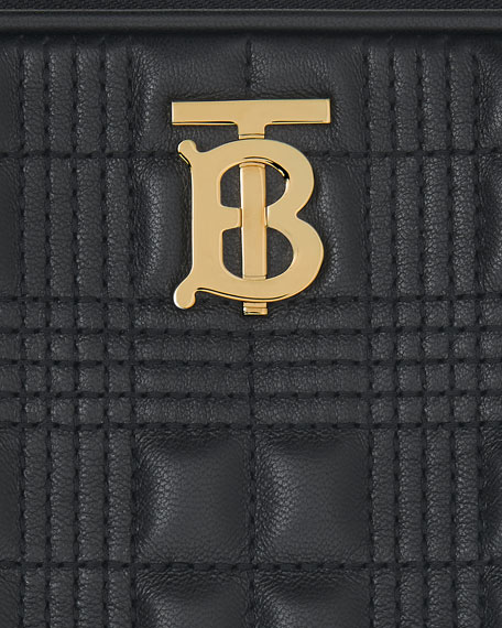 Image 5 of 5: Burberry Small Quilted Camera Bag