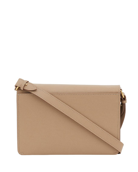 Burberry Albion TB Grainy Crossbody Bag, Archive Beige
