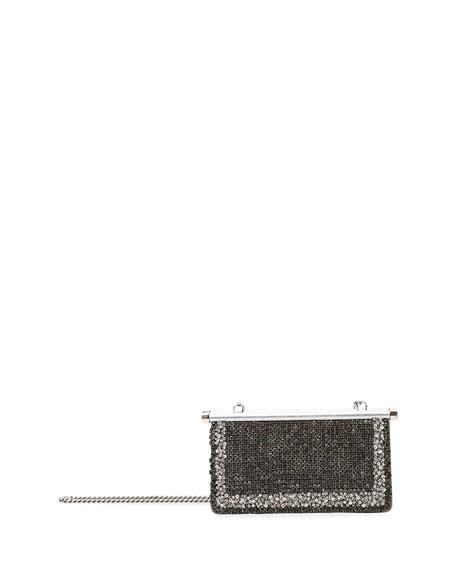 Valentino Garavani Carry Secrets Small Jeweled Clutch Bag