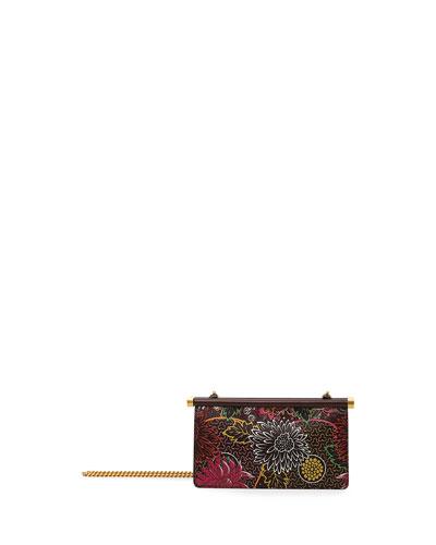 Carry Secrets Small Flower Clutch Bag