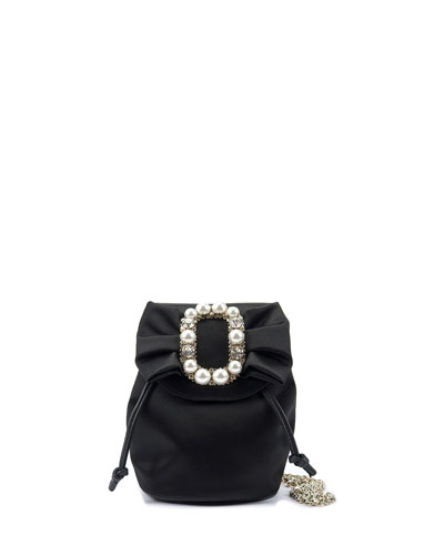 Pearly Buckle Mini Backpack