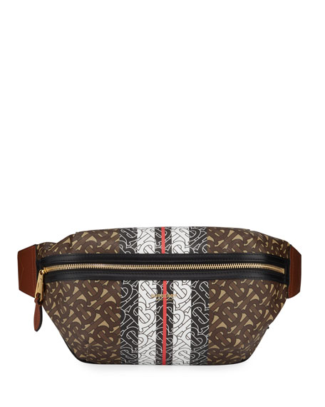 Burberry Belt Sonny TB Monogram Canvas Belt Bag