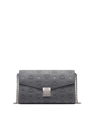 Millie Small Monogrammed Leather Crossbody Bag