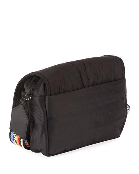 Stella McCartney Stella Medium Logo Eco Shoulder Bag