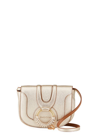 See by Chloe Mini Hana Metallic Shoulder Bag