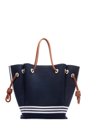 Loewe Flamenco Knot Sailor Tote Bag