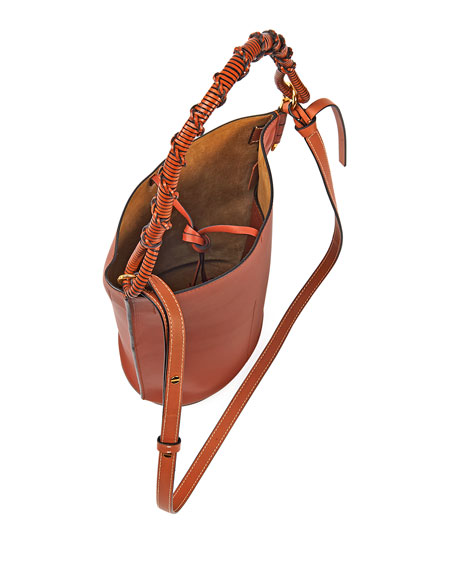 Image 2 of 3: Loewe Gate Top Handle Bucket Bag