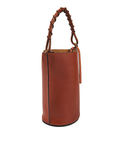 Image 3 of 3: Loewe Gate Top Handle Bucket Bag