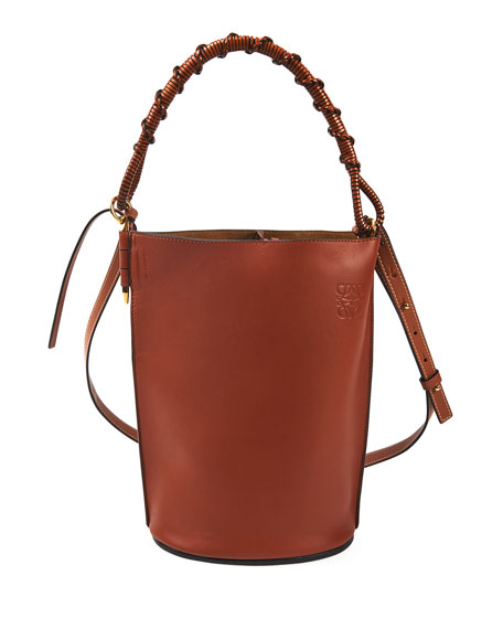 Image 1 of 3: Loewe Gate Top Handle Bucket Bag