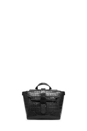 Senreve Maestra Mini Mock-Croc Convertible Backpack Satchel Bag