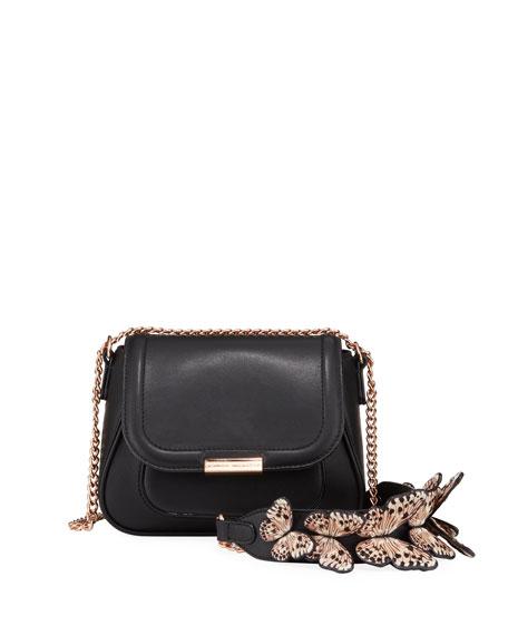 Sophia Webster Eloise Mini Leather Butterfly Shoulder Bag