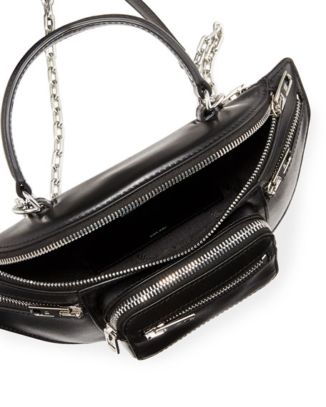 Image 2 of 4: Attica Soft Mini Napa Top-Handle  Bag