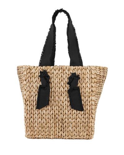 Petite Isla Bahia Woven Tote Bag